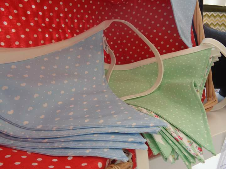 Custom Handmade Bunting Flags