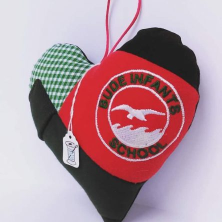 Keepsake School Uniform Hanging Hearts